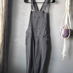 Grey hollister overalls